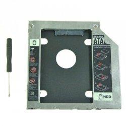 Kieszeń Qoltec na drugi dysk 2.5 HDD | 9.5 mm