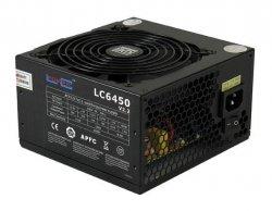 Zasilacz LC-Power 450w LC6450 V2.2, 120mm, 20/24 pin, PCI-E, 4x SATA 80 PLU