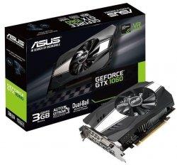 Karta VGA Asus GTX 1060 3GB GDDR5 192bit DVI+2xHDMI+2xDP PCIe3.0