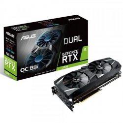 Karta VGA Asus DUAL-RTX2070-O8G OC 8GB GDDR6 256bit HDMI+3xDP+USB-C PCIe3.0