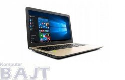 Notebook Asus R540UB-DM1067T 15,6FHD/i5-7200U/8GB/SSD256GB/MX110-2GB/W10 Black-gold