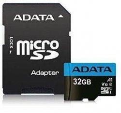 Karta pamięci ADATA microSDXC/SDHC Premier 32GB UHS-I Class 10 + adapter