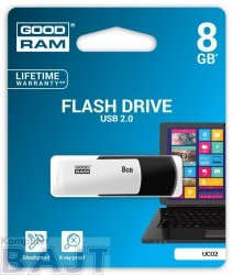Pendrive GOODRAM COLOUR 8GB Retail 9 Black&White