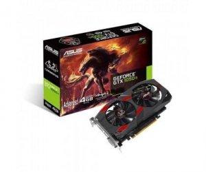 Karta VGA Asus CERBERUS GTX1050 Ti 4GB GDDR5 128bit 1xDVI+HDMI+DP PCIe3.0