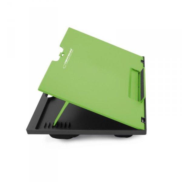 Podstawka pod notebook  Esperanza Kukenan  zielony