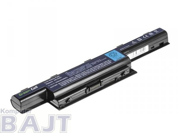 Bateria Green Cell do Acer Aspire  5710 5740 AS10D31 6 cell 11,1V