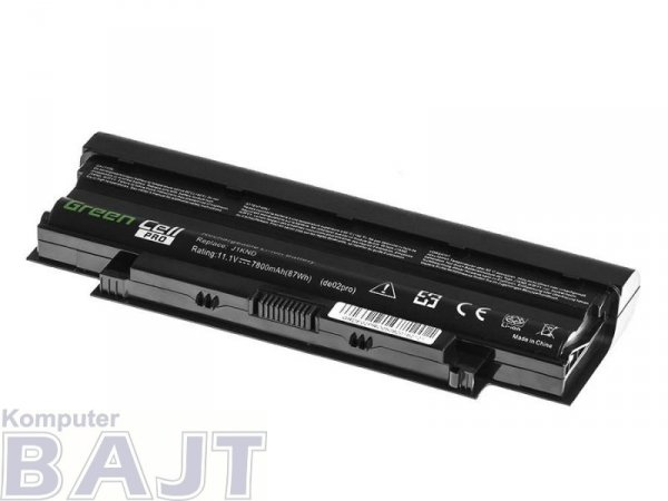 Bateria Green Cell PRO Dell Inspiron J1KND 15R N5010 N505 9 cell 11,1V
