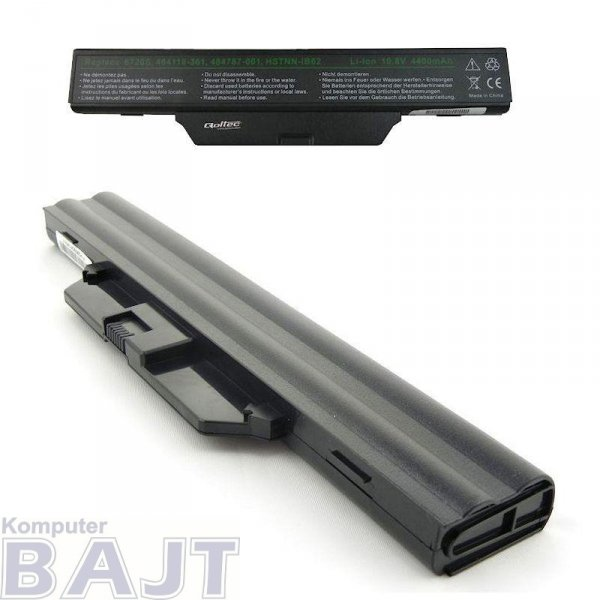 Bateria Qoltec do notebooka HP 6720, 4400mAh, 10,8-11,1V