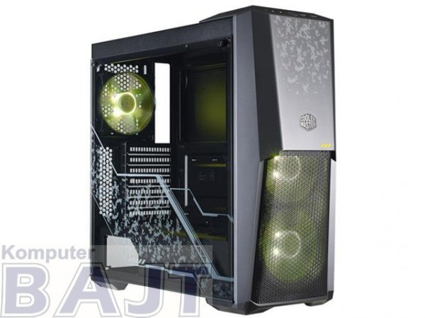 Obudowa Cooler Master MasterBox MB500 TUF Edition Midi Tower podświetlenie RGB czarna