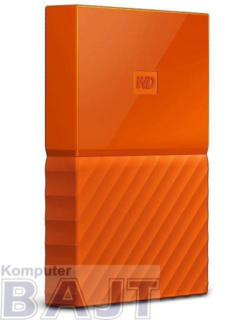 Dysk WD My Passport 2TB USB 3.0 AES 256-bit Orange