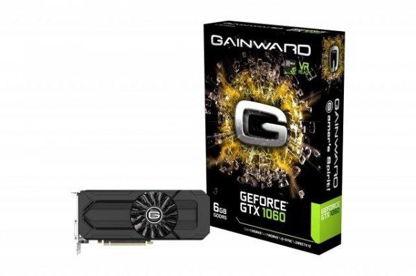 Karta VGA Gainward GTX1060 6GB GDDR5 192bit DVI+HDMI+3xDP PCIe3.0