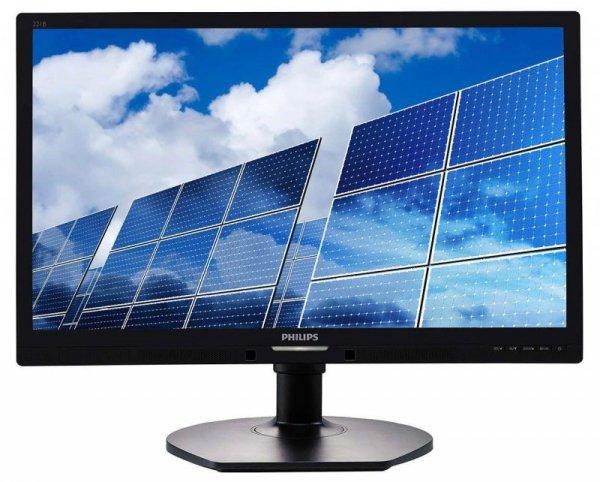 "Monitor Philips 21,5"" 221B6LPCB/00 VGA DVI głośniki"