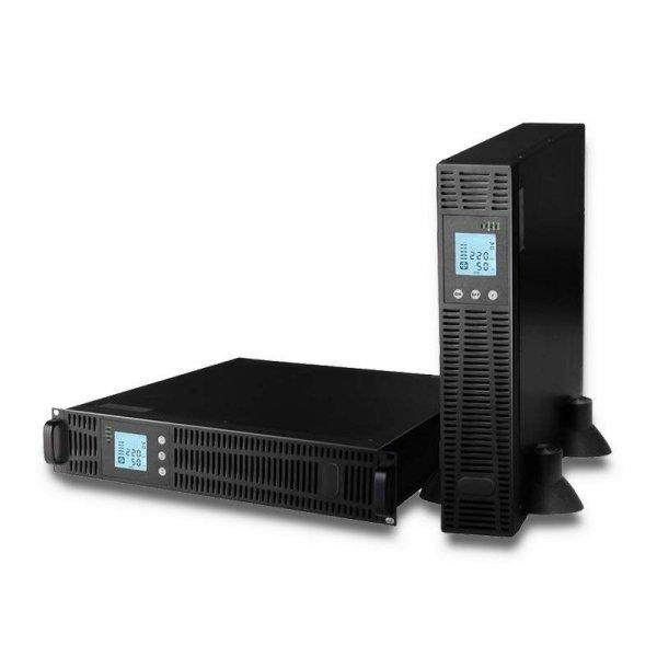 Zasilacz awaryjny Qoltec UPS RACK   6KVA   4800 W   LCD