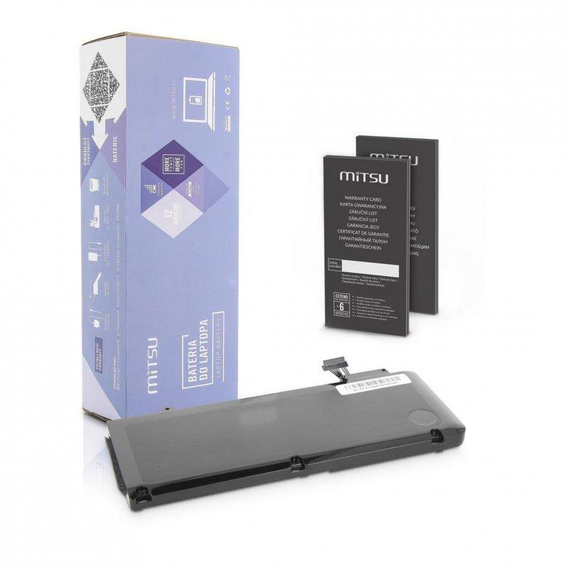 """Bateria Mitsu do notebooka Apple MacBook Pro 13"""" - A1322"""