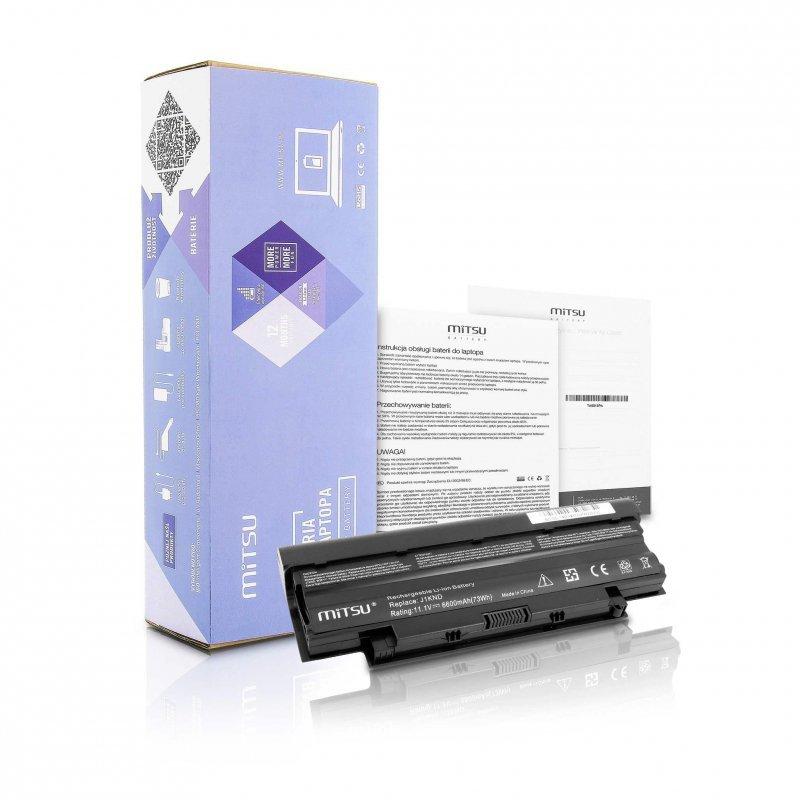 Bateria Mitsu do notebooka Dell 13R, 14R, 15R