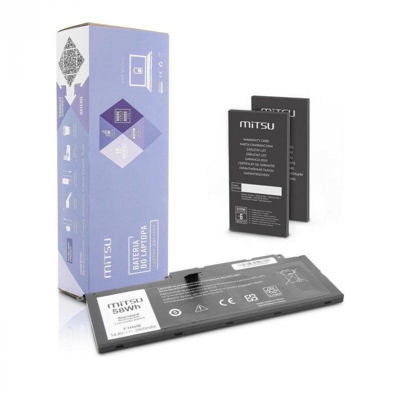 Bateria Mitsu do notebooka Dell 15 (7537)