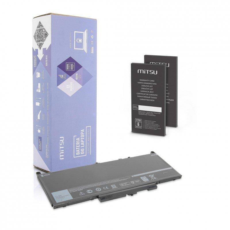 Bateria Mitsu do notebooka Dell Latitude E7270, E7470 (7.4V-7.6V) (7200 mAh)