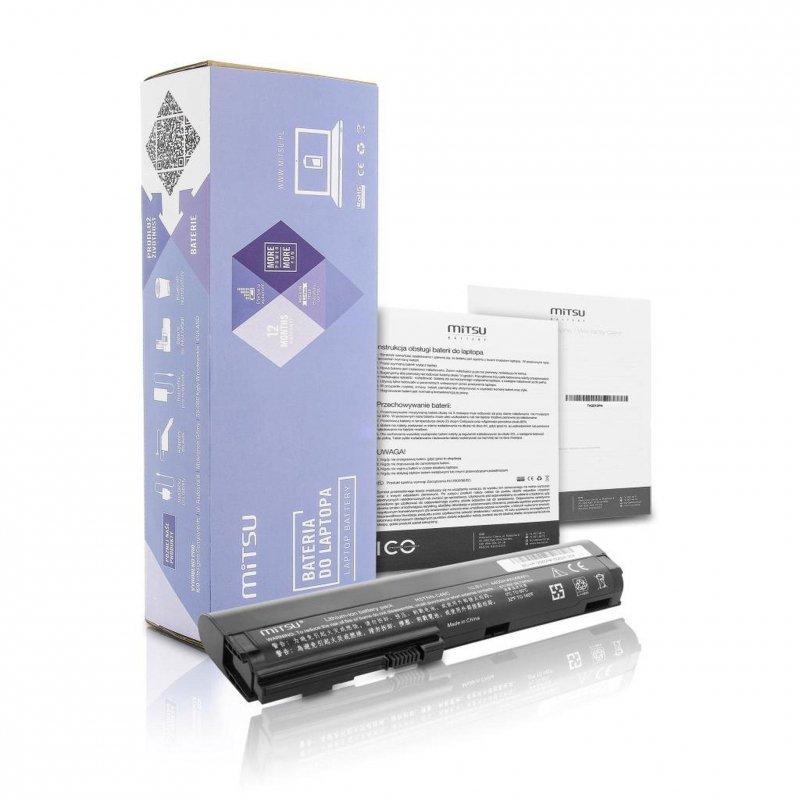 Bateria Mitsu do notebooka HP 2560p, 2570p