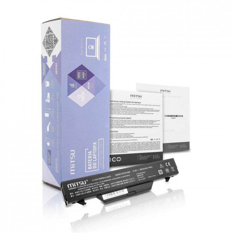 Bateria Mitsu do notebooka HP ProBook 4710s (10.8V-11.1V) (6600 mAh)
