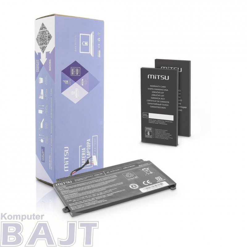Bateria Mitsu do notebooka Toshiba ChromeBook CB35 (10.8V-11.1V) (4160 mAh)