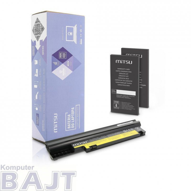 Bateria Mitsu do notebooka Lenovo ThinkPad Edge E30 (10.8V-11.1V) (4400 mAh)