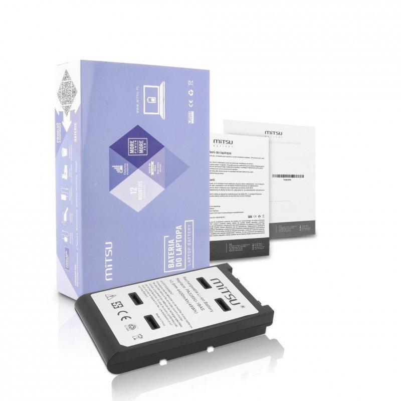 Bateria Mitsu do notebooka Toshiba A10, A15 (10.8V-11.1V) (4400 mAh)