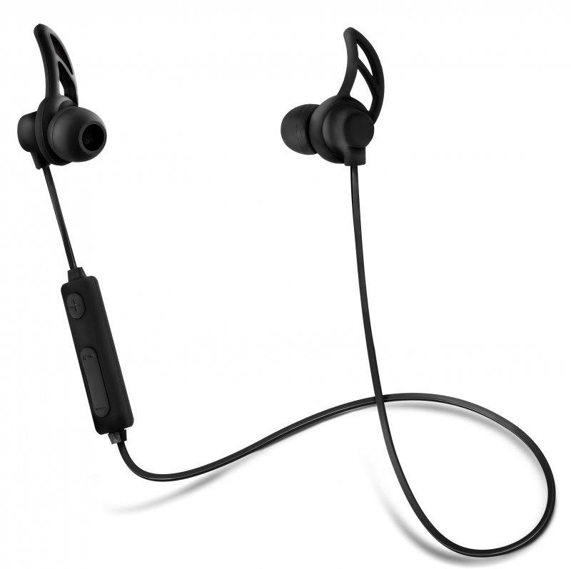 Słuchawki z mikrofonem Acme BH101 bezprzewodowe Bluetooth douszne czarne