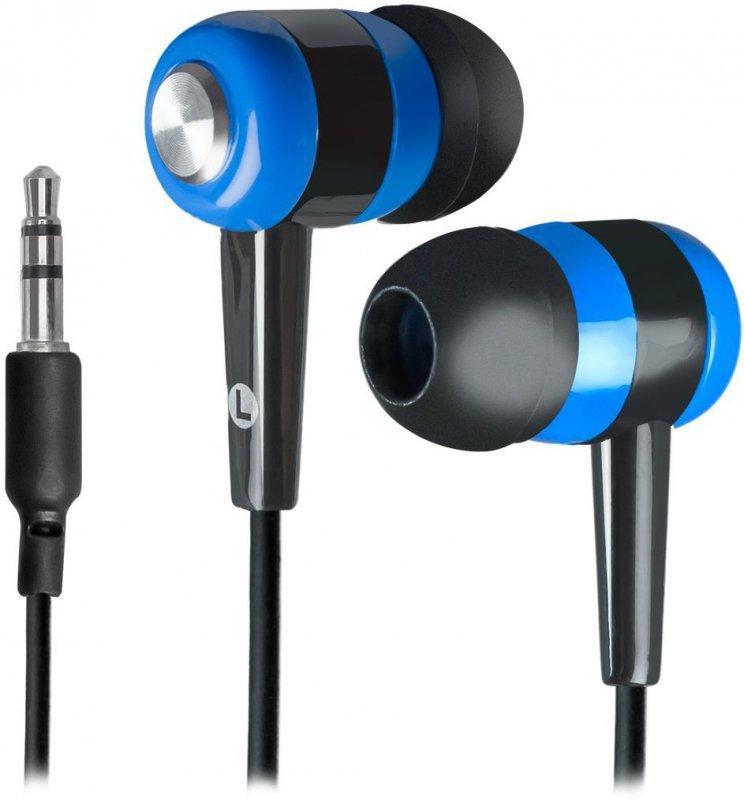 Słuchawki Defender BASIC 616 douszne czarno-niebieskie