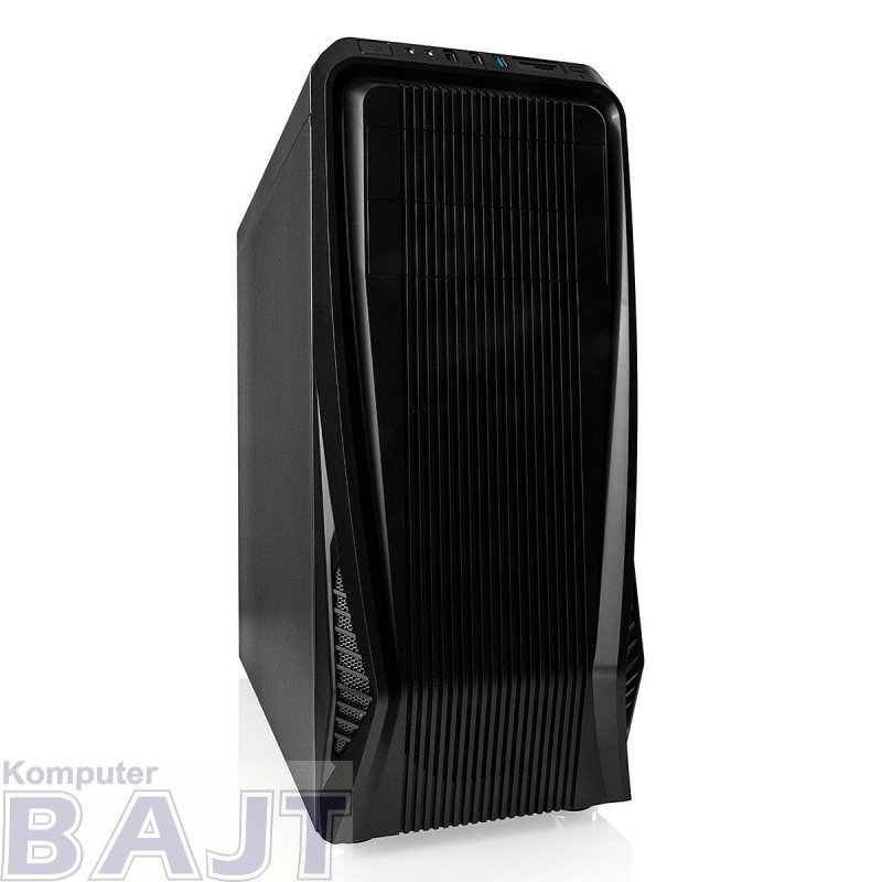 Obudowa Modecom Advanced Gaming C3 DARK ATX Midi USB 3.0 Black bez zasilacza