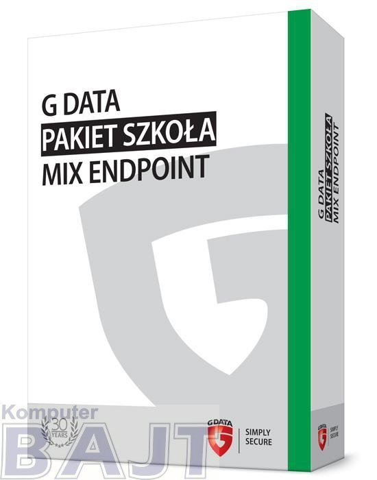 G DATA Pakiet Szkoła MIX Endpoint BOX do 50PC 3 LATA