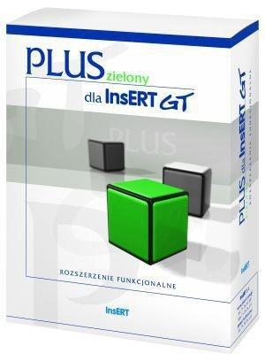 InsERT - zielony PLUS dla InsERT GT