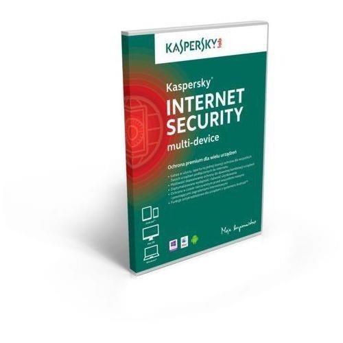 Licencja BOX Kaspersky Internet Security - multi-device 2 stanowiska 1 rok - przy zakupie z komputerem lub notebookiem