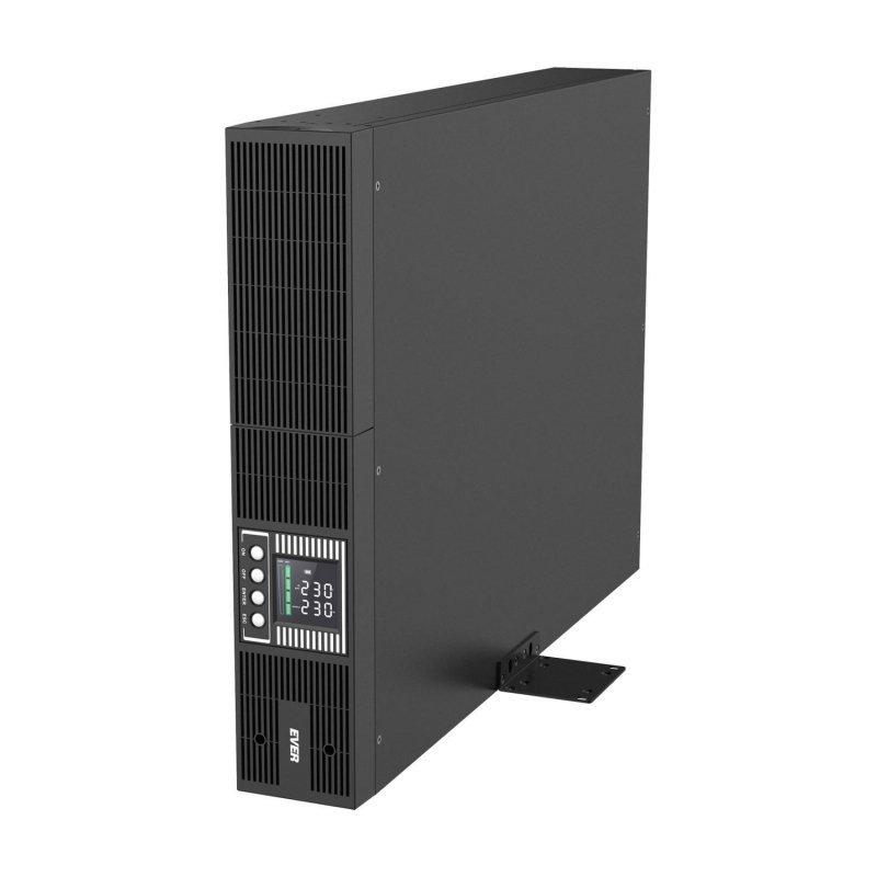 Zasilacz awaryjny UPS Ever On-Line Powerline RT PLUS 2000 VFI 9xIEC Sin USB LCD