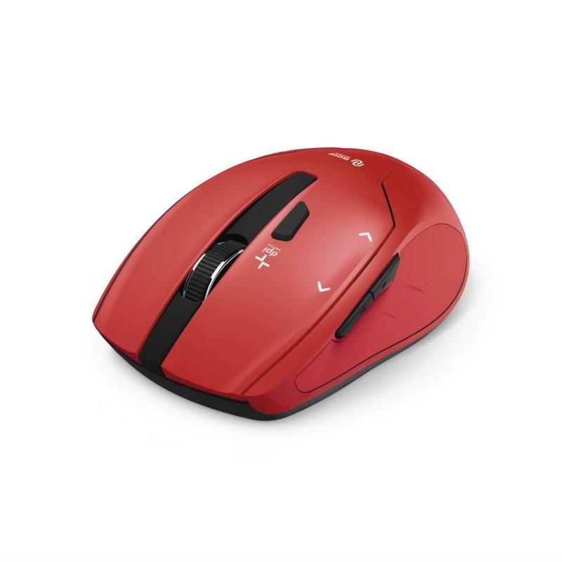 Mysz bezprzewodowa Hama Milano optyczna czerwona