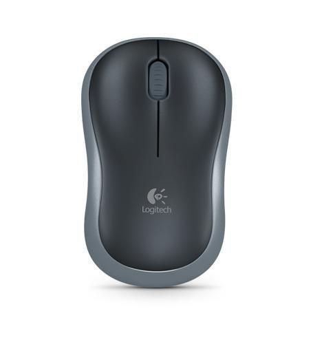 Mysz bezprzewodowa Logitech optyczna M185 Nano czarna