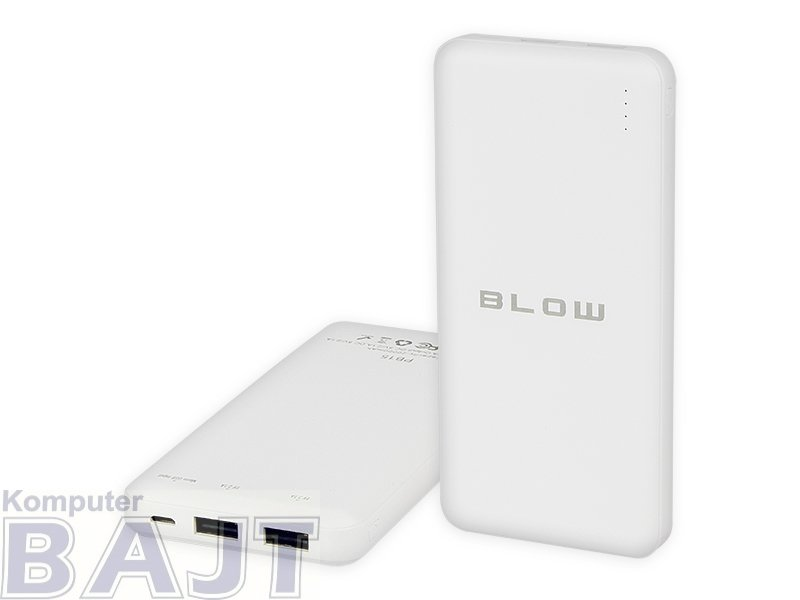 PowerBank BLOW 5900804078470 (20000mAh; USB 2.0; kolor biały)