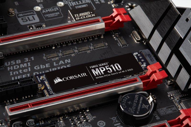SSD Corsair MP510 480GB PCIe x4 NVMe