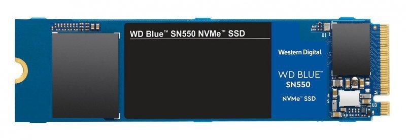 Dysk SSD WD Blue SN550 WDS250G2B0C (250 GB ; M.2; PCIe NVMe 3.0)