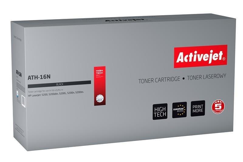 Toner Activejet ATH-16N (do drukarki Canon,Hewlett Packard, zamiennik HP 16A/Canon CRG-509 Q7516A supreme 13000str. czarny)
