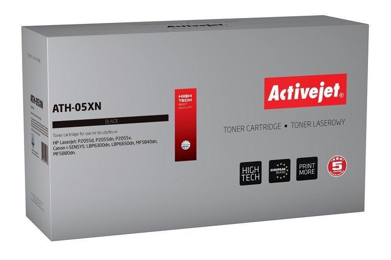 Toner Activejet ATH-05XN (zamiennik HP 05X CE505X, Canon CRG-719H; Premium; 6500 stron; czarny)