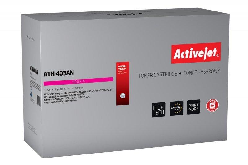 Toner Activejet ATH-403AN (zamiennik HP 507A CE403A; Premium; 6000 stron; czerwony)