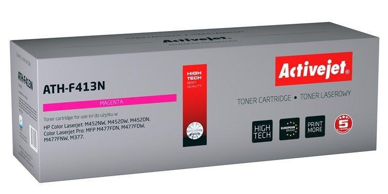 Toner Activejet ATH-F413N (zamiennik HP 410A CF413A; Supreme; 2300 stron; czerwony)
