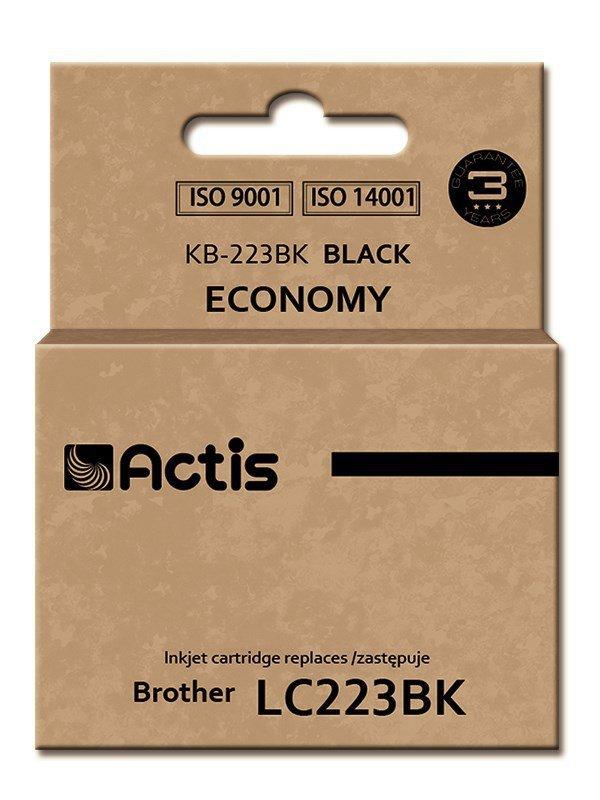 Tusz ACTIS KB-223Bk (zamiennik Brother LC223BK; Standard; 16 ml; czarny)