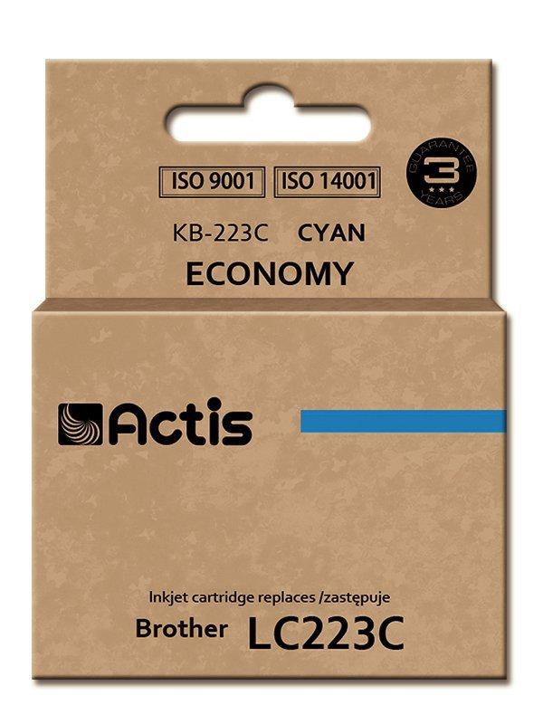 Tusz ACTIS KB-223C (zamiennik Brother LC223C; Standard; 10 ml; niebieski)