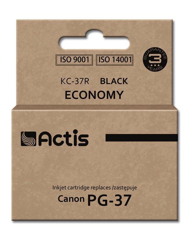Tusz ACTIS KC-37R (zamiennik Canon PG-37; Standard; 12 ml; czarny)