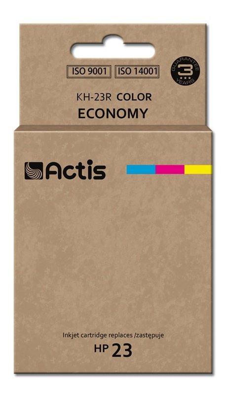 Tusz ACTIS KH-23R (zamiennik HP 23 C1823D; Standard; 39 ml; kolor)