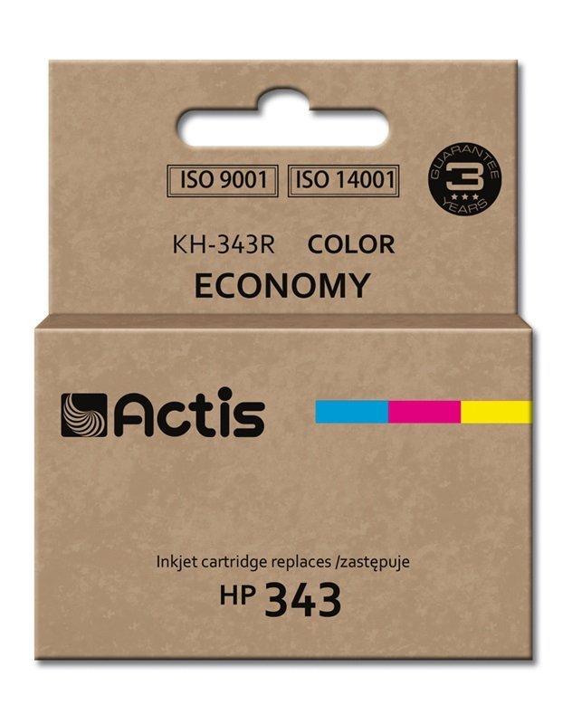 Tusz ACTIS KH-343R (zamiennik HP 343 C8766EE; Standard; 21 ml; kolor)