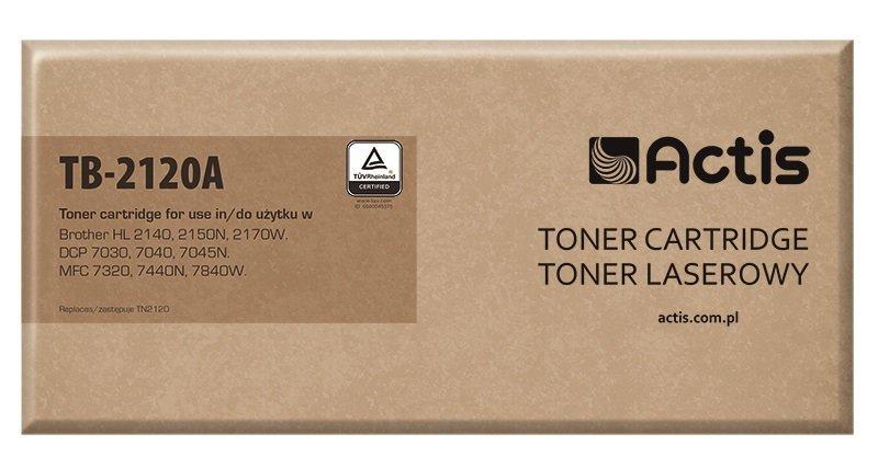 Toner ACTIS TB-2120A (zamiennik Brother TN-2120; Standard; 2600 stron; czarny)