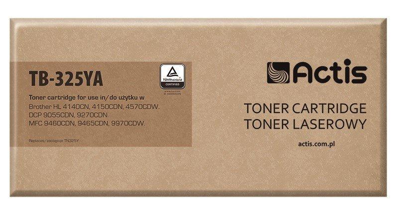 Toner ACTIS TB-325YA (zamiennik Brother TN-325Y; Supreme; 3500 stron; żółty)
