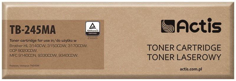 Toner ACTIS TB-245MA (zamiennik Brother TN-245M; Supreme; 2200 stron; czerwony)